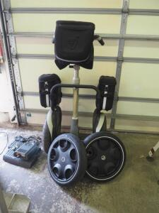 '01 E167 Segway, MDL 1644900007, 12.0 Control Unit, With Side Storage Packs, Handlebar Packs, Light & Motion Turbo Charger, Replacement Batteries...