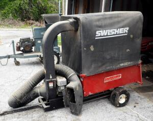 Swisher 37-Cubic-Foot 5.5 HP Lawn Vacuum Model LV5537