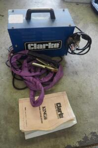 Clarke King 30 Plasma Cutting System, 230 V, Includes Torch