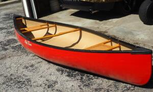 Old Town 12 Foot Still Water Canoe, Needs Repair - Small Crack On Bottom