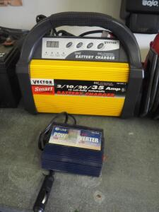 Vector Smart Battery Charger, Model VEC 1092 And Force 150 Power Convertor