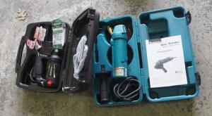 Makita 4 Inch Electric Disc Grinder, Model N9514B, Includes Carrying Case; And RotoZip, Model SLS-02, Includes Additional Bits And Carrying Case