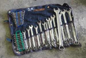 Wright Tool Standard And Metric Heavy Duty Wrenches And S.K Standard And Metric Wrench Sets, Total Qty 3 Sets
