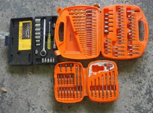 Black And Decker Bullet Bit Sets And Mustang Socket Wrench Set