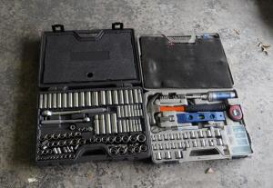 Standard And Metric Socket Sets, Includes Hex Keys, Allen Wrenches, Hammer, Pliers, And More, Qty 2 Sets