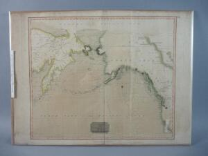 Chart Of The Northern Passage Between Asia & America, 1816, Rare