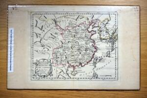 Original Antique Map Of China & Japan, 1791