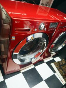 "LG Front Load Washing Machine, Model WM337OH*A, 39"" x 27"" x 30"", Bidder Responsible For Proper Removal"