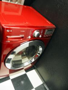 "LG Front Load Electric Dryer, Model DLEX3370R, 39"" x 27"" x 30"", Bidder Responsible For Proper Removal"