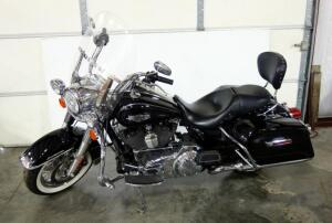 2014 Harley-Davidson FLHR Road King Motorcycle, V2, 1690cc, 33,953 Miles, New Front Tire, Recent Tune Up, Oil Change, Detail, VIN # 1HD1FBM10EB625316, SEE VIDEO