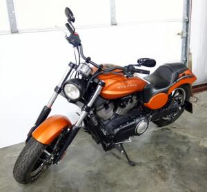 2013 Victory Judge Sport Cruiser Motorcycle, 9771 Miles, V-Twin 1731cc, New Rear Tire, Recent Battery, VIN # 5VPMB36N3D3015405, SEE VIDEO