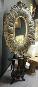 "Uttermost Araceli Beveled Mirror 47"" x 30"", Includes Decorative Wood Easel"