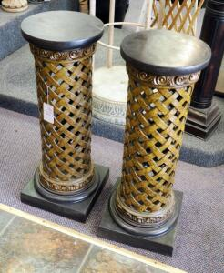 "30"" Woven Style Pedestals, Qty 2"