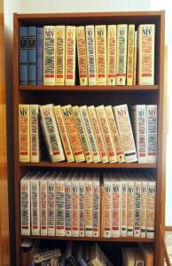 NIV Application Commentary, Zondervan Publishing, 40 Volumes, Contents Of 3 Shelves