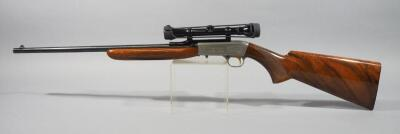 Belgium Browning .22 LR Carbine Rifle SN# Not Found, With Redfield 4x Scope