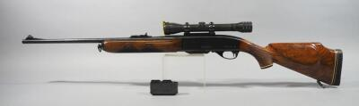 Remington Model 740 Woodsmaster .308 WIN Carbine Rifle SN# 240815, With Bear Cub 4x Scope And 2 Total Mags