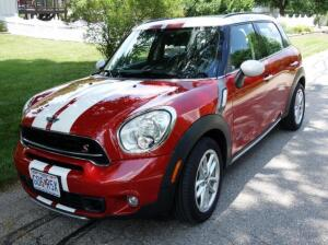 ATTENTION: This Item Has Been Moved To Our 8/11/2020 Combined Estate Auction. We Apologize For Any Inconvenience. 2015 MINI Cooper S Countryman All4 AWD 4 Door Hatchback, 4 Cyl, 1.6L Turbo, 6 Speed Manual, 75,180 Miles, VIN # WMWZC5C52FWM19327, SEE VIDEO