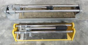 Brutus Tile Cutter And WorkForce Tile Cutter