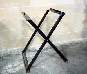 "Collapsible Metal Stand 30"" High x 19.5 Wide x 22"" Deep Opening"