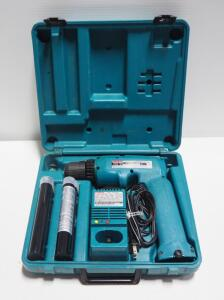 Makita Cordless Driver Drill Model 6095D With Extra Battery And Charger In Hard Case