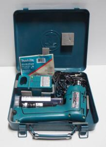 Makita Cordless Driver Drill Model 6012HD With Battery And Charger, And More, In Metal Case