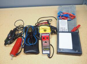 Val-U-Test Dwell-Tach Tester, Ohmvariator Continuity Tester, And More