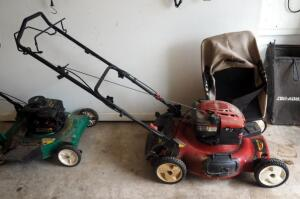 "Toro Recycler 22"" Front Drive Push Mower With Collection Bag, Unknown Working Order"