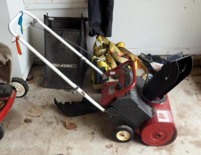 Snapper Gas Powered Snow Blower Model Number 3201