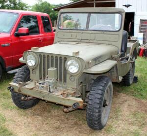 1952 Willys Jeep Model M38, Identification Number 6361, Odometer Reads 25,839.7, SEE VIDEO