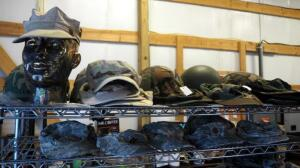 Military Universal Camouflage Pattern Covers/Patrol Caps, Woodland Pattern Caps, And Desert Caps, Contents Of 2 Shelves