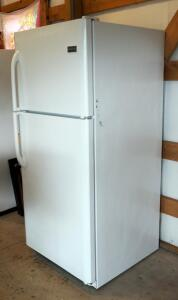 "Frigidaire Refrigerator/Freezer FFHT2021QW0 69"" x 30.5"" x 34"" Plugged In And Running"