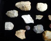 Arrowhead/ Projectile Point/ Stone Axe Collection, Various Sizes, Qty 15 - 2