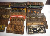 Antique And Vintage Multi-State License Plate Collection, 1910s -1960s, Approx Qty 65 - 3