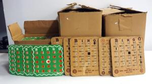 Vintage Bingo Card Collection, Uncounted