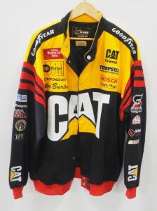 Chase Authentics Nascar Jacket With Embroidered Emblems, Size XL