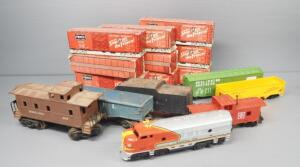 Train Collection, Includes Tyco 4-Piece Train Set, Lionel Caboose, Hopper Car, And Frisco Match Books In Boxcar Boxes And More, Local Pickup Only