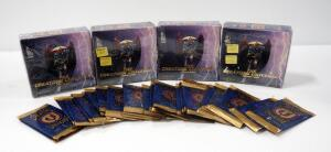 The Creators Universe Trading Cards, Includes 36 Sleeve 6 Card Pack Boxes (4) And 5 Card Packs (30), All NIB