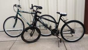 "Magna Glacier Point 26"" 15 Speed Bicycle, And FS Elite Canyon III 24"" 18 Speed Bicycle (Front Wheel 20"")"
