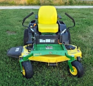"John Deere Model Z540R Zero Turn Mower, The Edge High Capacity Cutting System, 54"" Deck, Approx 75 Hours, Seller Will Continue To Use Mower Until Auction, Hours Will Vary"