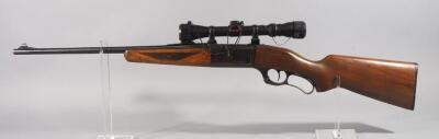 Savage Model 99E .243 WIN Lever Action Rifle SN# A308329, With Walnut Stock And Simmons 3-9x Scope