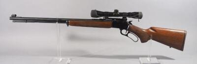 Marlin Original Golden 39A .22 SLLR Lever Action Rifle SN# 96300287, With BSA Classic Scope And Walnut Stock