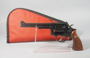 Smith & Wesson Model 14-3 .38 S&W Special 6-Shot Revolver SN# 3K61409, In Soft Case