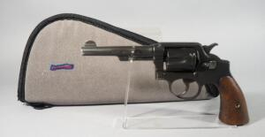 Smith & Wesson S&W Victory .38 S&W 6-Shot Revolver SN# 746990, In Soft Case