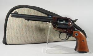 Ruger Single-Six .22 Cal 6-Shot Revolver SN# 389084, Made Before Transfer Bar. Has Not Been Converted, In Soft Case