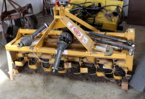 5' King Kutter II Gear Driven Rotary Tiller, Model TG-60-YK, Bidder Responsible For Proper Removal