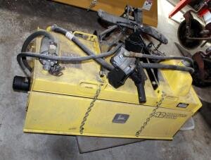 "John Deere 42"" Hydraulic Rotary Tiller, Bidder Responsible For Proper Removal"