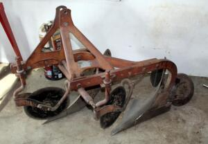 Dearborn Farm Equipment 2-Bottom Plow With Disc Blades, Model 10-1, Bidder Responsible For Proper Removal