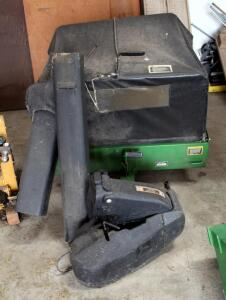 John Deere Material Collection Cart Bagger Model # MC519, Bidder Responsible For Proper Removal