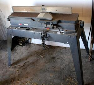 "Craftsman Jointer/Planer Model 113.206931 On Metal Stand (38"" x 38"" x 35""), Bidder Responsible For Proper Removal"