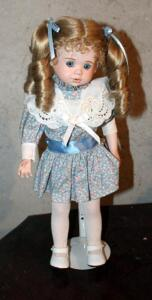 "Elke Hutchens 29"" Porcelain Doll With Stand"